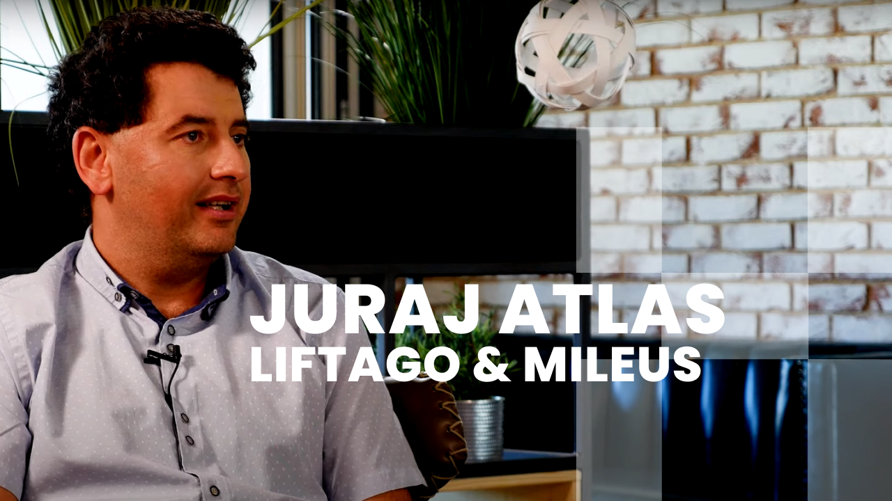 ROZHOVOR: Juraj Atlas (Founder & CEO Liftago / Mileus)